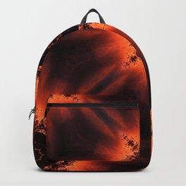 Fiery Sunrise Kaleidoscope Backpack