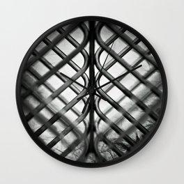 Caged Wall Clock
