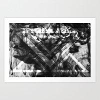No. 1 (black) Art Print