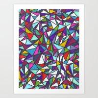 sparkle Art Prints featuring Sparkle by Erin Jordan
