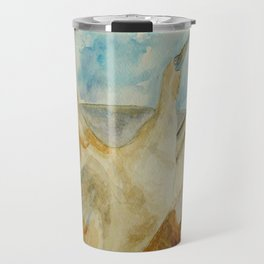 Galapagos Blue-Footed Booby Seabird Travel Mug