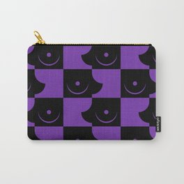 Streapchess_04 | Black and Purple Carry-All Pouch