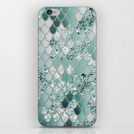 Mermaid Glitter Scales #3 #shiny #decor #art #society6 iPhone Skin