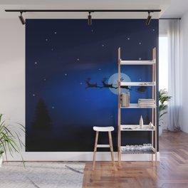 Xmas Night Wall Mural