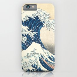 The Great Wave off Kanagawa (Highest Resolution) iPhone Case