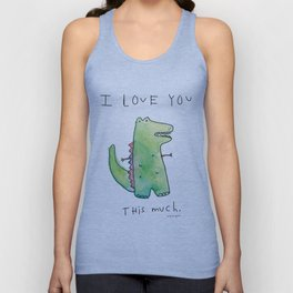 This Much Unisex Tank Top
