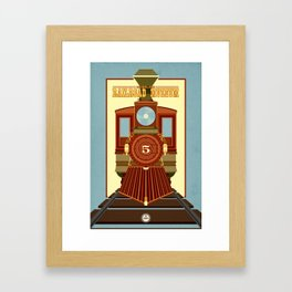 California State Railroad Museum Framed Art Print