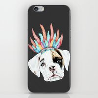 puppy iPhone & iPod Skins featuring Puppy by 13 Styx