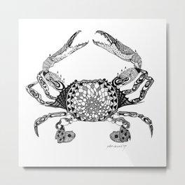 Ol' Stripper Metal Print