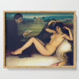 Venus of Poetry /La Venus de la poesía (1913) Serving Tray