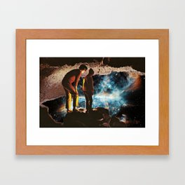 ...And Then It Kinda Went Nova Framed Art Print