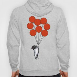 I Believe I Can Fly French Bulldog Hoody