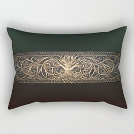 Ygdrassil the Norse World Tree Rectangular Pillow
