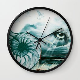 The Great Eye In The Sky Wall Clock