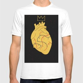 Heart Of A King. T-shirt