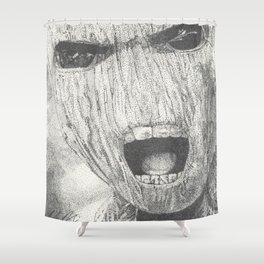 BabyGroot Pointillism Shower Curtain