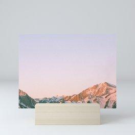 Mammoth Sunrise Mini Art Print