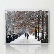 New York in Winter Laptop & iPad Skin
