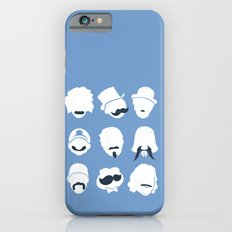 Famous Moustaches blue Slim Case iPhone 6s