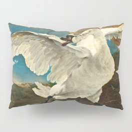 Jan Asselijn - The Threatened Swan Pillow Sham