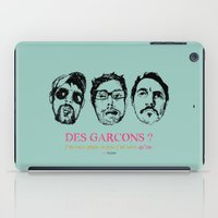 boys iPad Cases featuring Boys, Boys, Boys by la belette rose