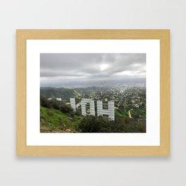 HO(ollywood) Framed Art Print