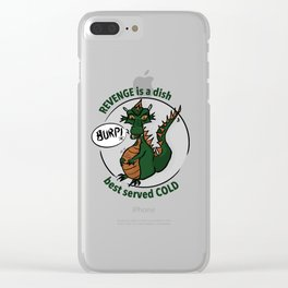 Revenge D-Dragon Collection Clear iPhone Case