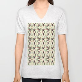 Japonese Abstract  Unisex V-Neck