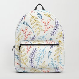 Natural Leaves Backpack