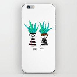 Aloe There iPhone Skin