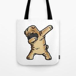 Funny Dabbing Shar Pei Dog Dab Dance Tote Bag