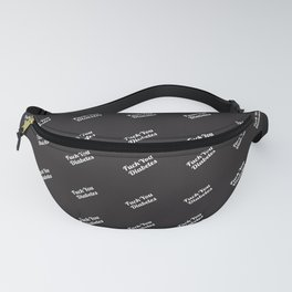 FU Diabetes Fanny Pack (Black) Fanny Pack