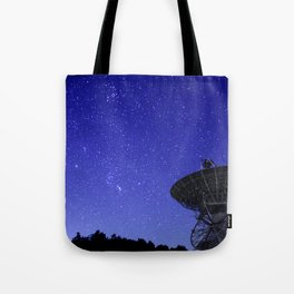 Watching the Sky Tote Bag