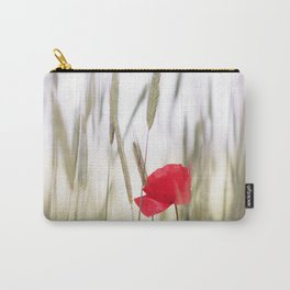 Poppy Abstract Carry-All Pouch