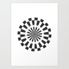 Sound of Black Holes Colliding Art Print