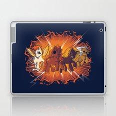 Four Little Ponies of the Apocalypse Laptop & iPad Skin