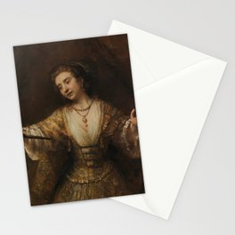 Rembrandt - Lucretia (1664) Stationery Cards