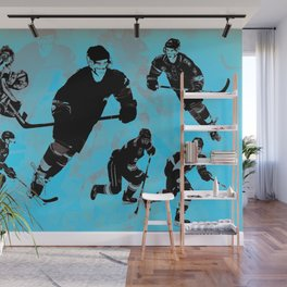 Game on! - Hockey Night Wall Mural