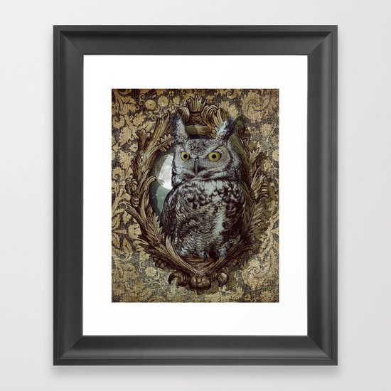 Moonlight Escape Framed Art Print