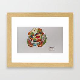 Taiwanese Lion-Dog Framed Art Print