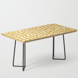 Dots / Mustard Coffee Table