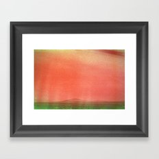 The Range Framed Art Print