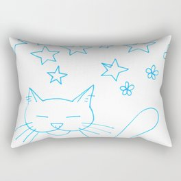 Cat's Dream Rectangular Pillow