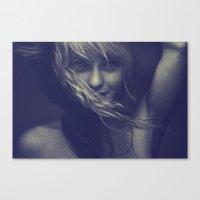 tye dye Canvas Prints featuring Dye by Imustbedead
