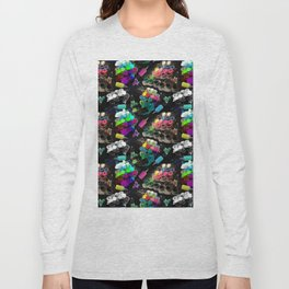 Tattoo ink and machines Long Sleeve T-shirt