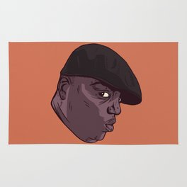 Dead Hip Hop Icon Series: Christopher Wallace Rug