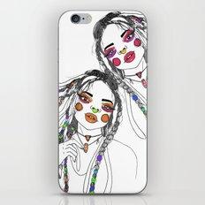 Digital_Girl iPhone & iPod Skin