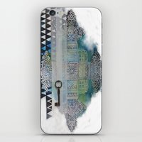 cross iPhone & iPod Skins featuring Cross by oxana zaika