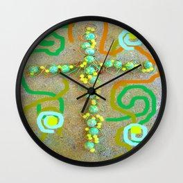 Weirdly Unique Cross Wall Clock