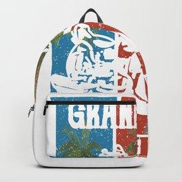 Grandview Washington Lifestlye Retro Custom Backpack